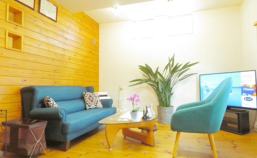 恵比寿コメディカル整体院の待合室
